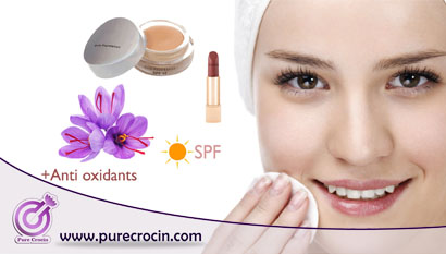 The Application of Crocin and Saffron Components in Formulation of Health and Beauty Care Products